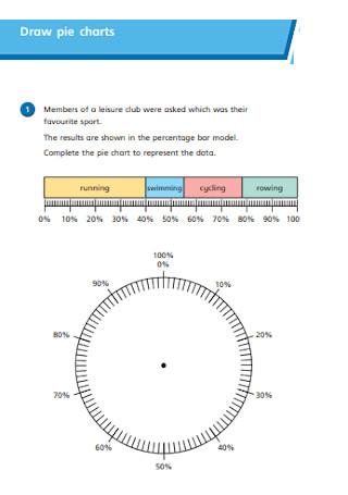 Draw Pie Charts