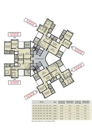 Floor Plan Brochure Template
