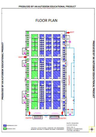 Floor Plan Format