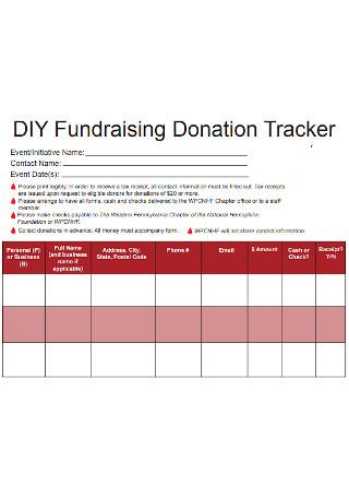 Fundraising Donation Tracker