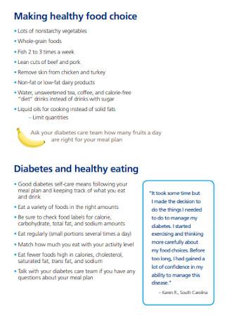 Healthy Food Eating Plan