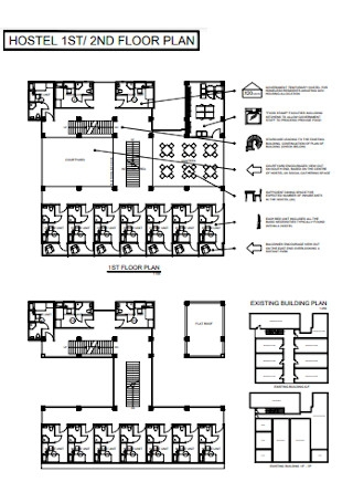 Hostel Floor Plan