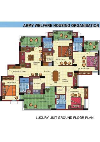 Housing Floor Plan