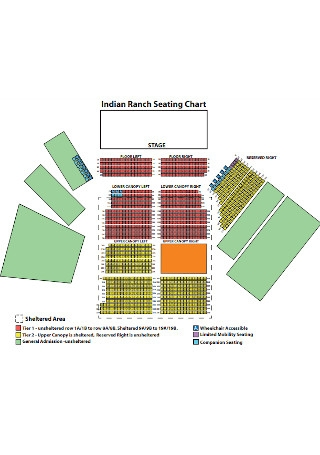 Indian Ranch Seating Chart