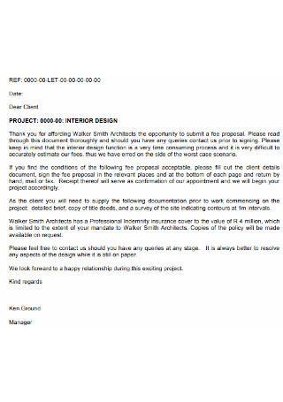 Interior Project Design Contract