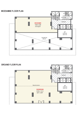 Meezzanine Floor Plan