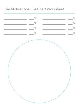 Motivational Pie Chart Worksheet