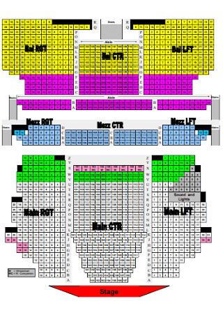 Printable Seating Chart