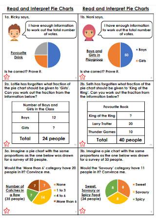 Read and Interpret Pie Chart