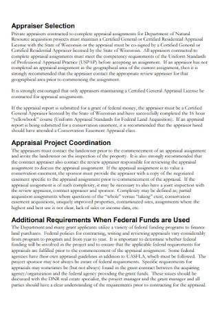 Real Estate Contract and Appraisal Report
