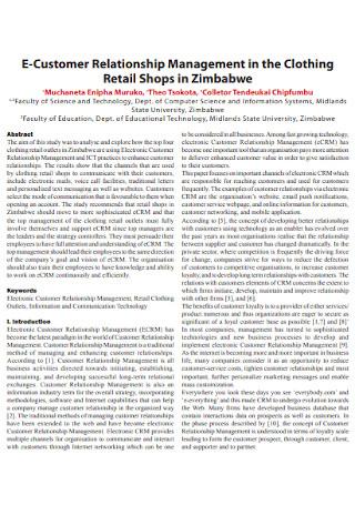 Retail Shop Customer Relationship Management