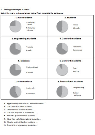 Sample Presentation in Pie Chart