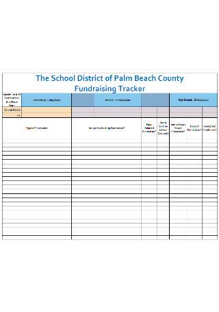 School Fundraising Tracker