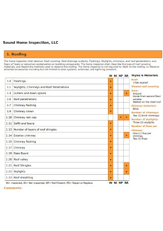 Sound Home Inspection Report