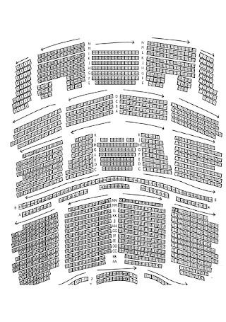 Standard Seating Chart
