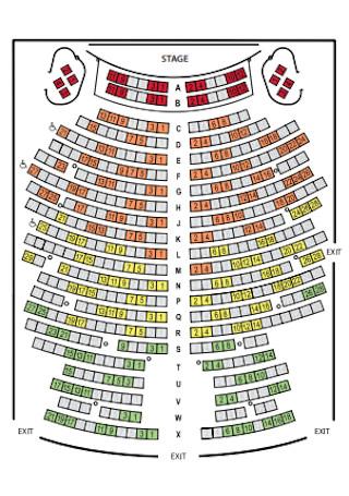 University Seating Chart