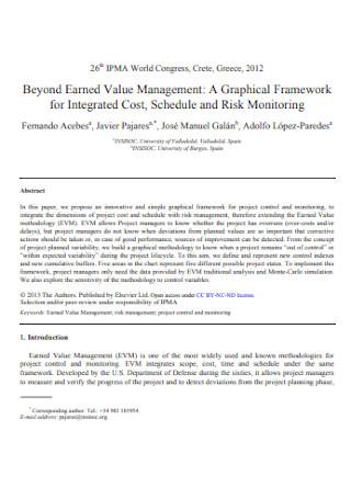 Beyond Earned Value Management