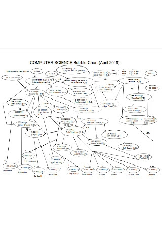 Computer Science Bubble Chart