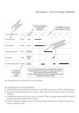 Gantt Chart Format1