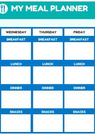 Sample My Meal Plan