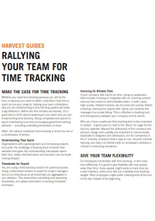 Team for Time Tracking