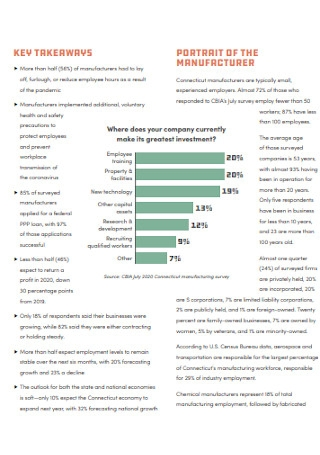 Basic Manufacturing Report