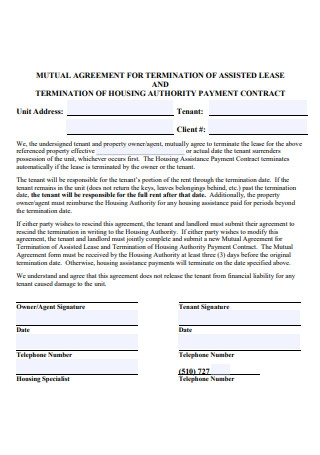 Basic Mutual Agreement