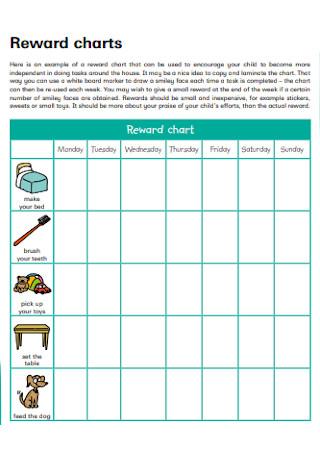 Basic Reward Chart for Kids