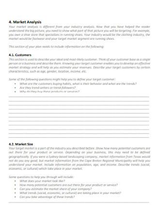 Business Loan Plan Workbook