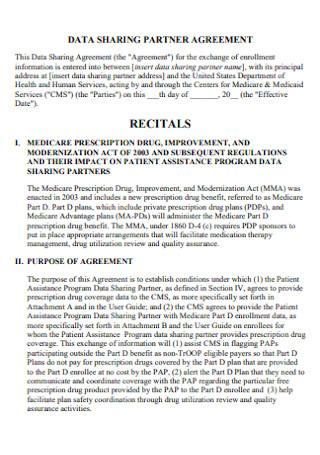 Data Sharing Partner Agreement