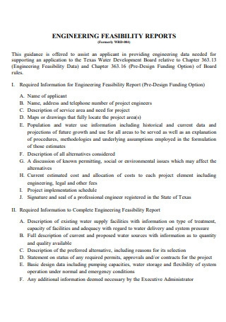 Engineering Feasibility Report