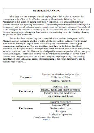 Farm Business Plan Workbook
