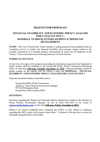 Financial Feasibility Proposal