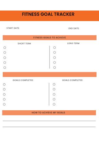 Fitness Goal Tracker