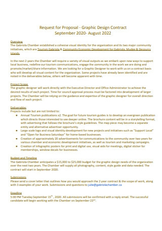 Graphic Design Contract Proposal