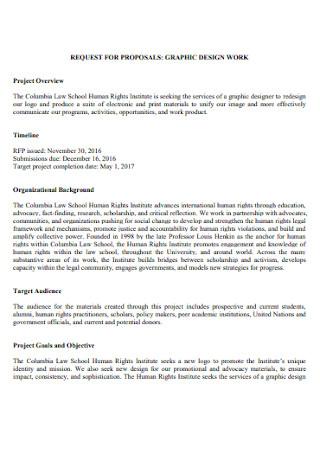 Graphic Design Work Proposal