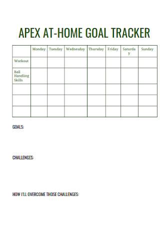 Home Goal Tracker