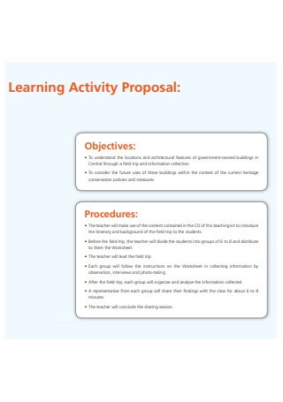Learning Activity Proposal