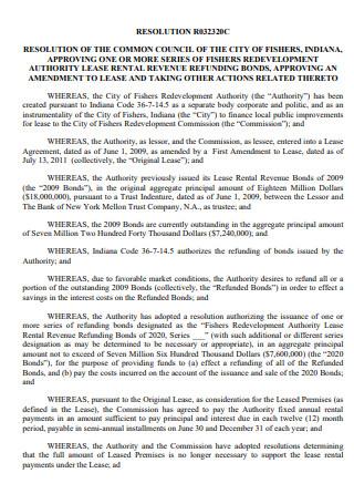 Lease Amendment in PDF