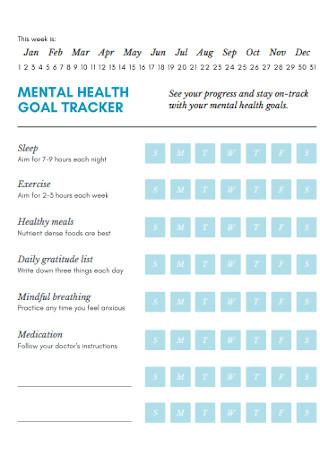 Mental Health Goal Tracker