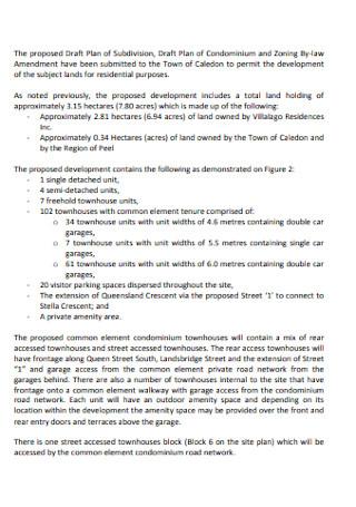 Planning Justification Report