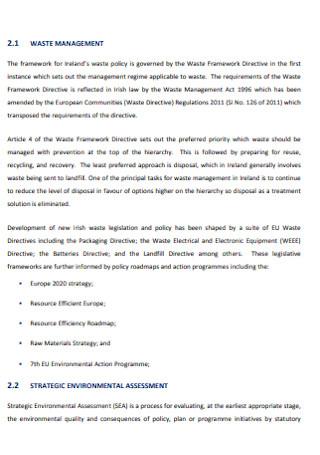 Regional Waste Management Plans