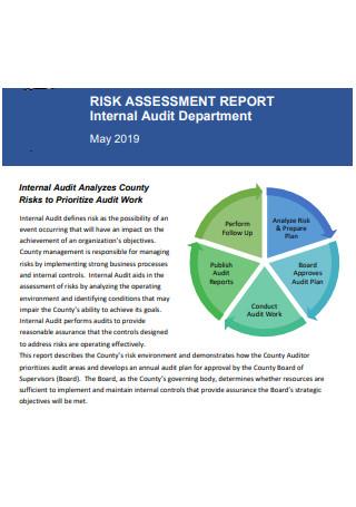 Risk Assessment Internal Audit Report