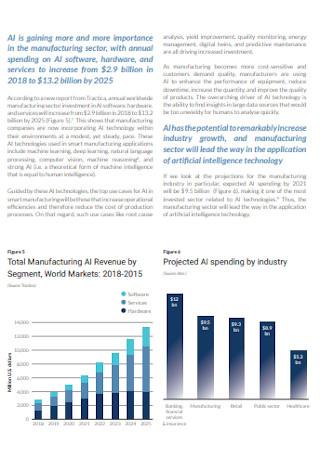 Sample Manufacturing Report