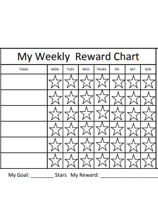 Sample Weekly Reward Chart