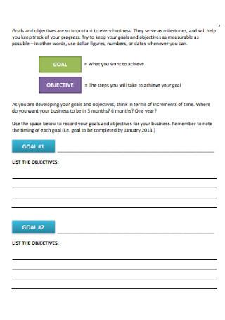Simple Business Plan Workbook