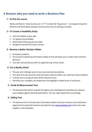 Simple Business Plan Workbook1