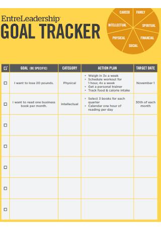 Simple Goal Tracker