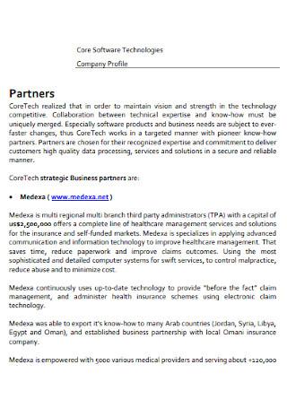 Software Company Profile
