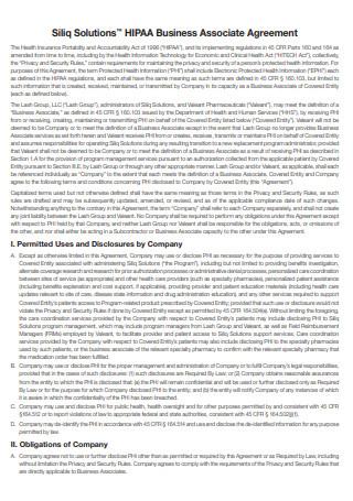 Solutions HIPAA Business Associate Agreement
